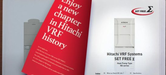 Hitachi VRF Systems Set Free Sigma Launch
